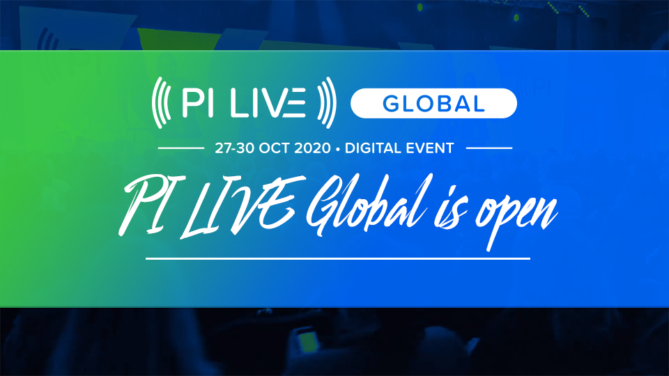 Today's the day, PI Live Global is open!